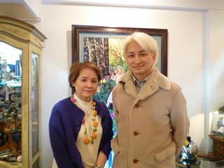 講師の柿原さんNAOTOさんの2ショット写真。